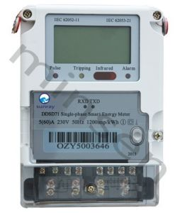 Single-Phase Smart Energy Meter pictures & photos