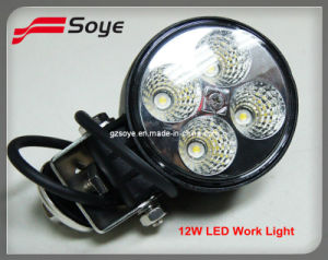White Color 12W LED Work Light, LED Fog Light Driving Bar for Heavy Duty, Mining Using (SY-0412)