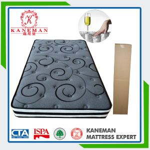 Hot Sell Bamboo Fabric Pocket Spring Mattress pictures & photos