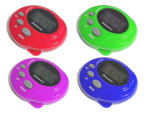 Electric Pedometer (QPM-009) pictures & photos