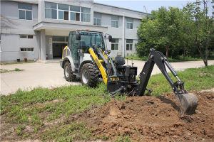 Backhoe Attachment for Mini Loader Skid Steer Loader Tractor pictures & photos
