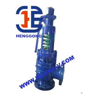 API Cast Steel High Temperature Flange Safety Valve