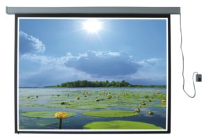 Projection Screen - Electric Screen