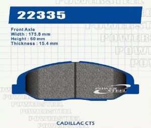 Brake Pad for Cadillac Cts D1332 pictures & photos