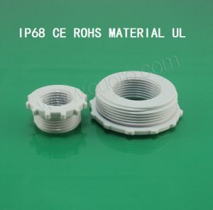 Plastic Reduce Adapter for Cable Gland, PG Series, Nylon6, CE, RoHS