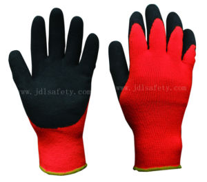Sandy Latex Coated Work Glove for Safety Work (LT2041) pictures & photos