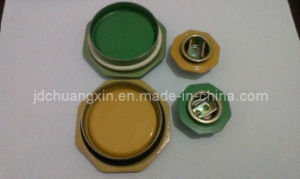 "2"" and 3/4"" Steel Drum Closures Coated with Epoxy Phenolic Lacquer"