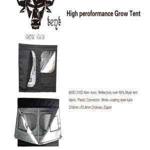 Good Density High Quality Grow Club Tent pictures & photos