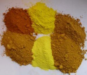 Iron Oxide Yellow (313, 311)