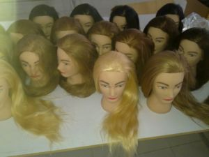 Hair Style Training : Hair Training Head, Mannequin Head for Hair Style Training pictures ...