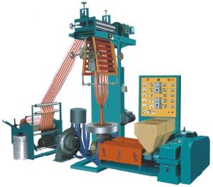 Double-Colour Film Blowing Machine