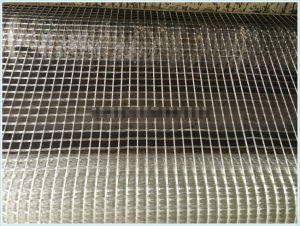 Self-Adhesive Warp Knitted Fiberglass Geogrids with 1m Width pictures & photos