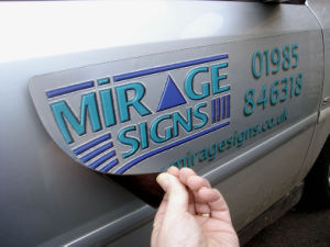Vehicle Magnetic Sign, Car Advertising Magnetic Sticker pictures & photos