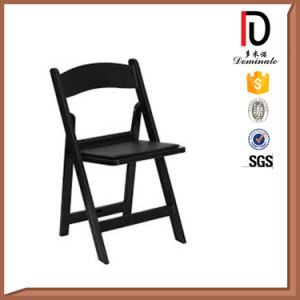 Wholesale Cheap Black White Resin Folding Chair for Outdoor Wedding (BR-P082) pictures & photos