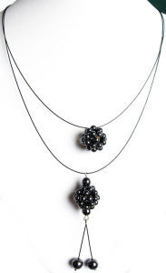 Fashion Hematite Necklace