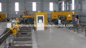 CNC Drilling, Sawing, Beveling Line for Beams pictures & photos