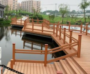 WPC Decking, Laminated Flooring, WPC Flooring pictures & photos