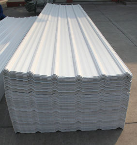 Cheap 3-Layer PVC Corrugated Roofing Sheet Price pictures & photos