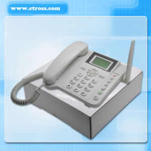 1 SIM Card GSM PSTN Fixed Cordless Telephone/GSM Fixed Cordless Phone With Two-Way SMS Function (GSM+PSTN Two Options) pictures & photos