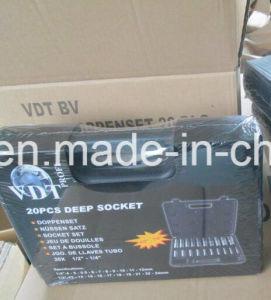 """20PCS 1/4""""Dr&1/2""""Dr Deep Socket Set (FY1020B1) pictures & photos"""