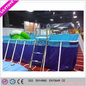 Outdoor Metal Frame Pool / Above Ground Metal Swimming Pool pictures & photos