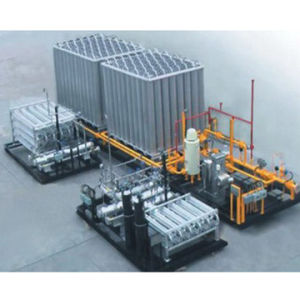 Lng (Liquefied Natural Gas) Evaporating Station Terminal