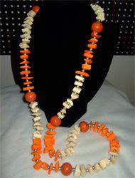 Fashion Bone Necklace (024-90)