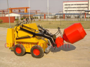 Mini Skid Steer Robot with Cement Mixer pictures & photos