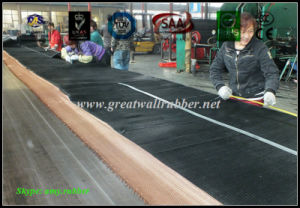 Floor Mat SBR/EPDM/NBR/Neoprene/Viton/Silicone Rubber Roll Sheet Antislip Flooring pictures & photos