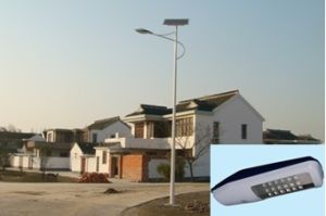 Solar 24W LED Street Lamp Light for Road Lighting pictures & photos