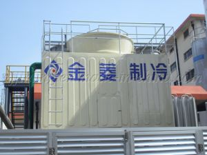 Big Cross Flow FRP Square Cooling Tower Jn-350L/D pictures & photos