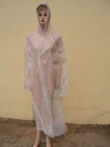 PE Raincoat (F-503) pictures & photos