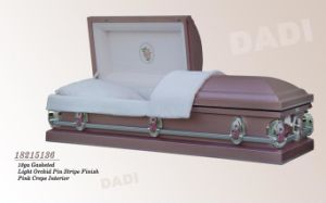 American Style Metal Casket (18215136) pictures & photos