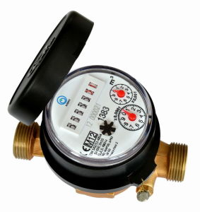 Single Jet Water Meter (D7-7+2) pictures & photos