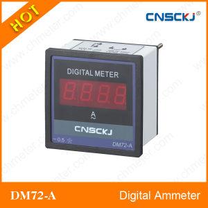 Dm72-a LED Display Digital Ammeter RS485 Communication
