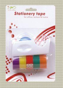 BOPP Clear Stationery Tape & Tape Dispenser (BCI-06)