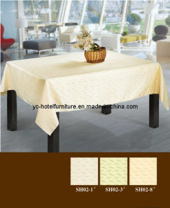 Hotel Banquet Table Cloth (FCX-534) pictures & photos