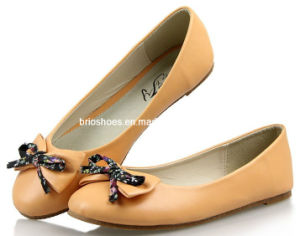 Nice Bow Flats Safe Women Shoes