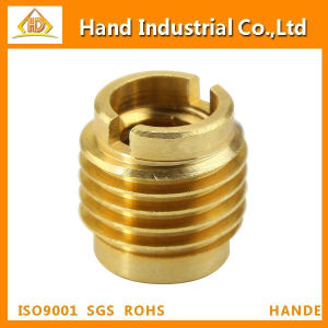 Fasteners Knock Down Threaded Brass Inserts pictures & photos