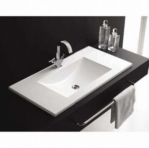 Rectangle Ceramic Washbasin, Ceramic Cabinet Wash Sinks pictures & photos