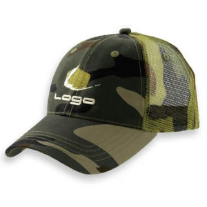 Camo Fabric Cotton Cap (OKM01-0019) pictures & photos