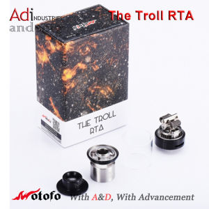Newest Wotofo The Troll Rta, 5.0ml Top Filling Tank pictures & photos