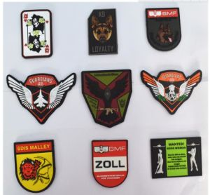 Coaster- Rubber Pad Military PVC Silicone 3D Patch Soft Custom Rubber Coaster pictures & photos