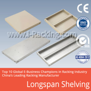 Long Span Metal Shelving for Industrial Warehouse Storage Solutions (IRB) pictures & photos