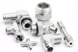 All Size Male and Female Adaptor Clamp and Fittings of Bsp Metric Jic SAE Orfs NPT JIS Flange pictures & photos