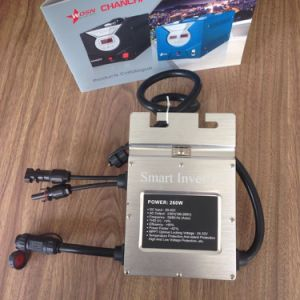 Waterproof Solar on Grid Tie Micro Power Inverter 220V for Outdoor PV Panel pictures & photos