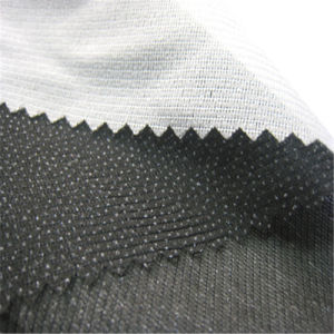 38GSM 40GSM Tricot Knitted Woven Fusible Interlining for Coat pictures & photos