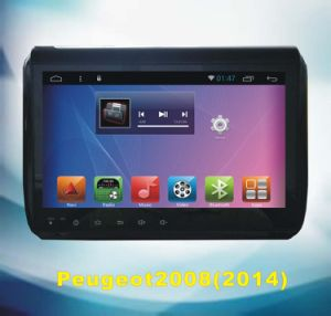 Android System GPS Navigation for Peugeot2008 2014 with Car DVD Player
