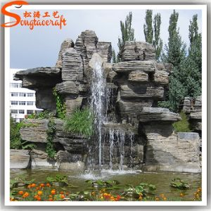 Factory Direct Artificial Plastic Water Fountain for Garden Decoration pictures & photos