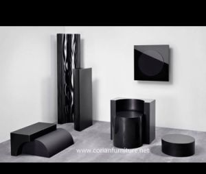 Black Acrylic Solid Surface pictures & photos